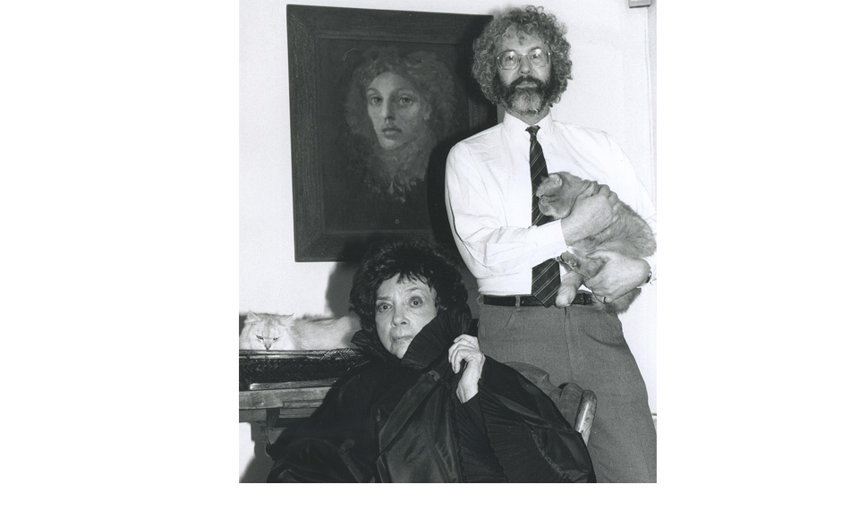 Peter Webb with Leonor Fini